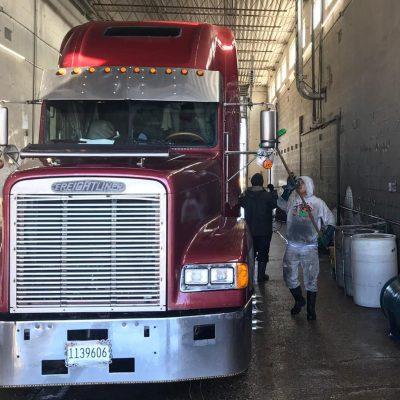 Truck Wiper Cleaner