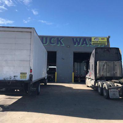 Unique Truck Wash Workshop